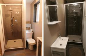 Les salles de bains de mon premier investissement immobilier