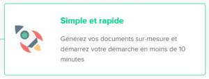 Générer vos documents sur-mesure avec legalstart