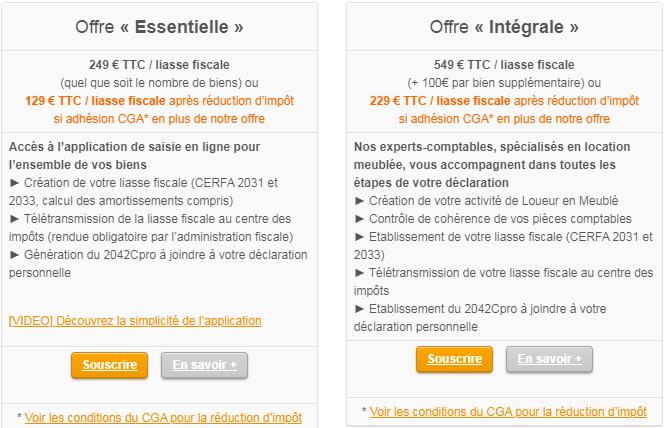 Les deux offres de Jedeclaremonmeuble.com